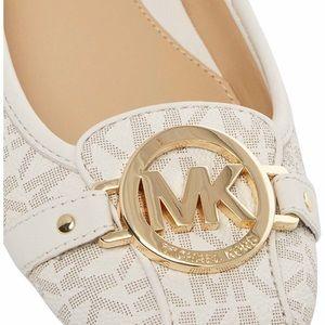 NEW! Michael Kors Fulton Moccasin Vanilla Size 9.5